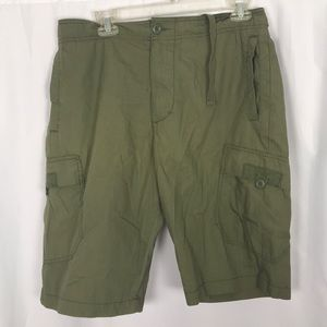 NWT Nike the athletic depart green cargo shorts